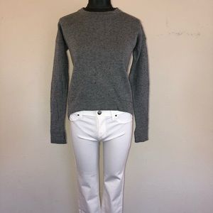 Lululemon Yogi Crew Speckled Gray Sweater